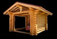 Дървени къщи - АНТАССТРОЙ